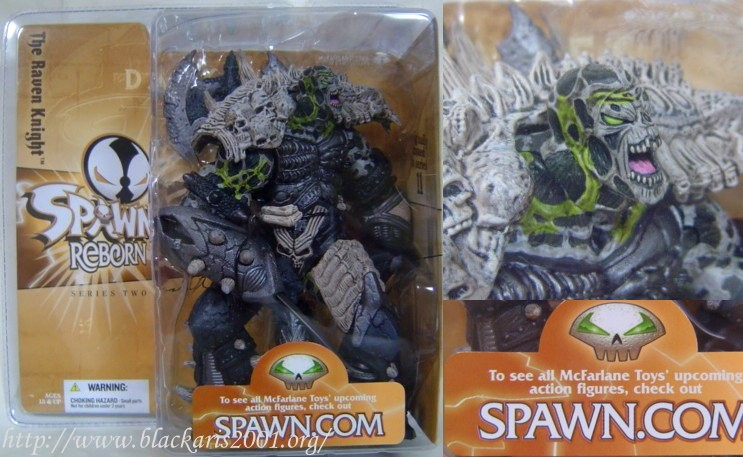 Spawn The Raven Knight