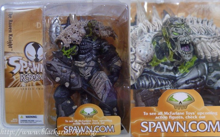 Spawn The Raven Knight Black Mouth